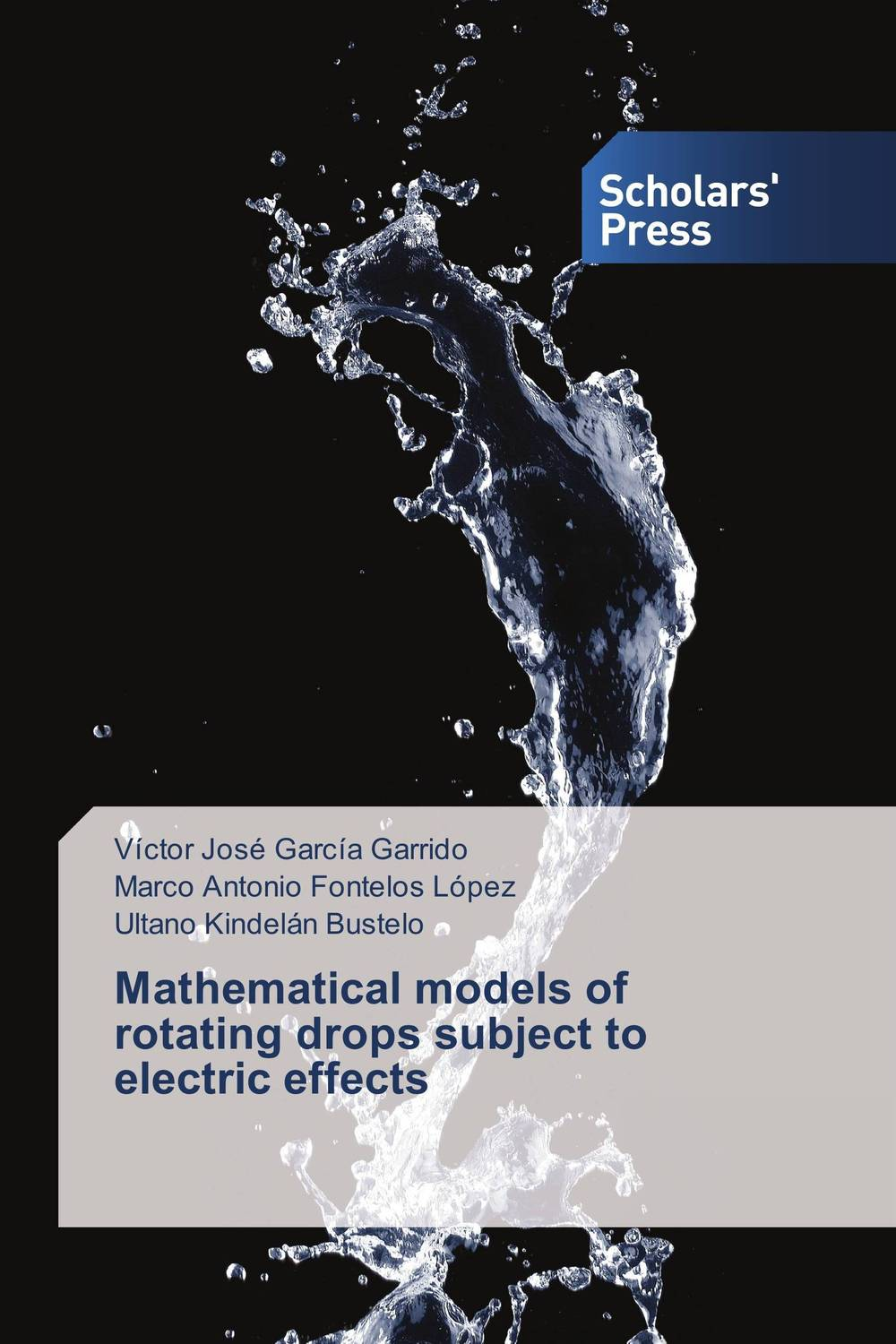 Mathematical models of rotating drops subject to electric effects handbook of mathematical fluid dynamics 1