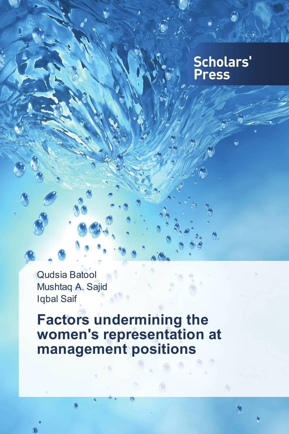 Factors undermining the women's representation at management positions