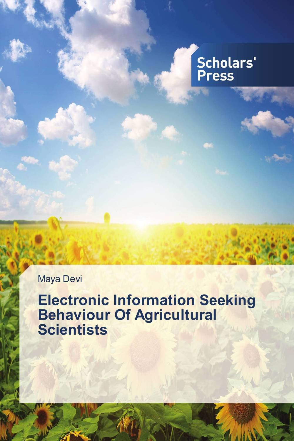 Electronic Information Seeking Behaviour Of Agricultural Scientists information seeking behaviour development in an academic institution