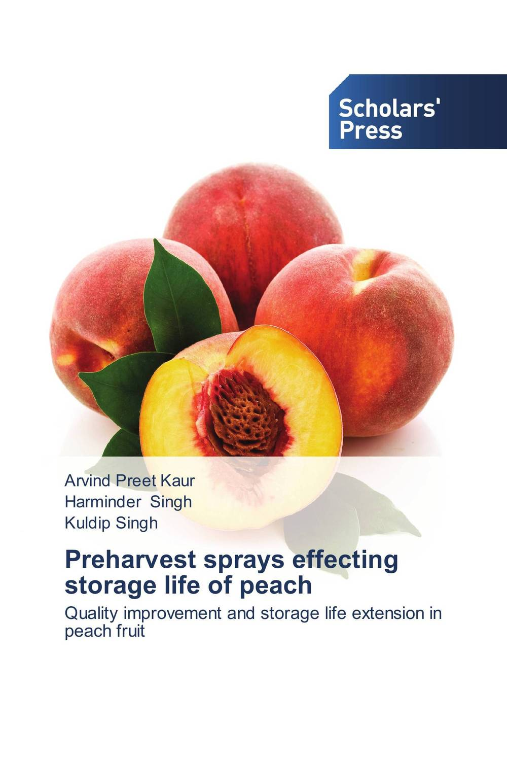 Preharvest sprays effecting storage life of peach mango pulp effect of variety and storage temperature