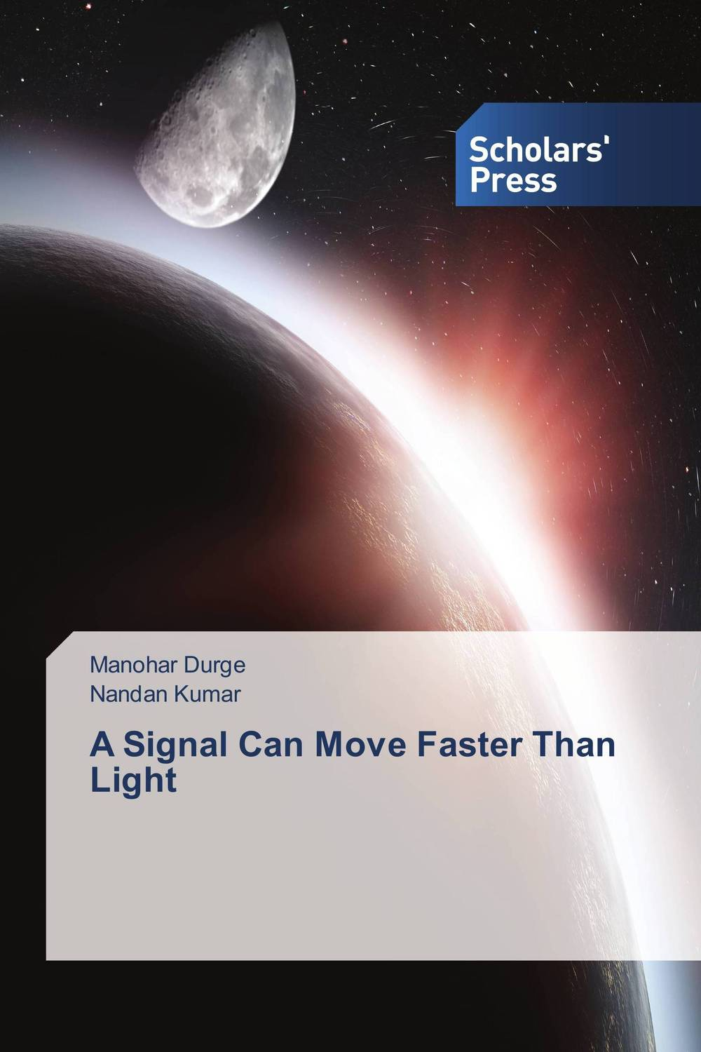 A Signal Can Move Faster Than Light stephan st031awrwq87 stephan
