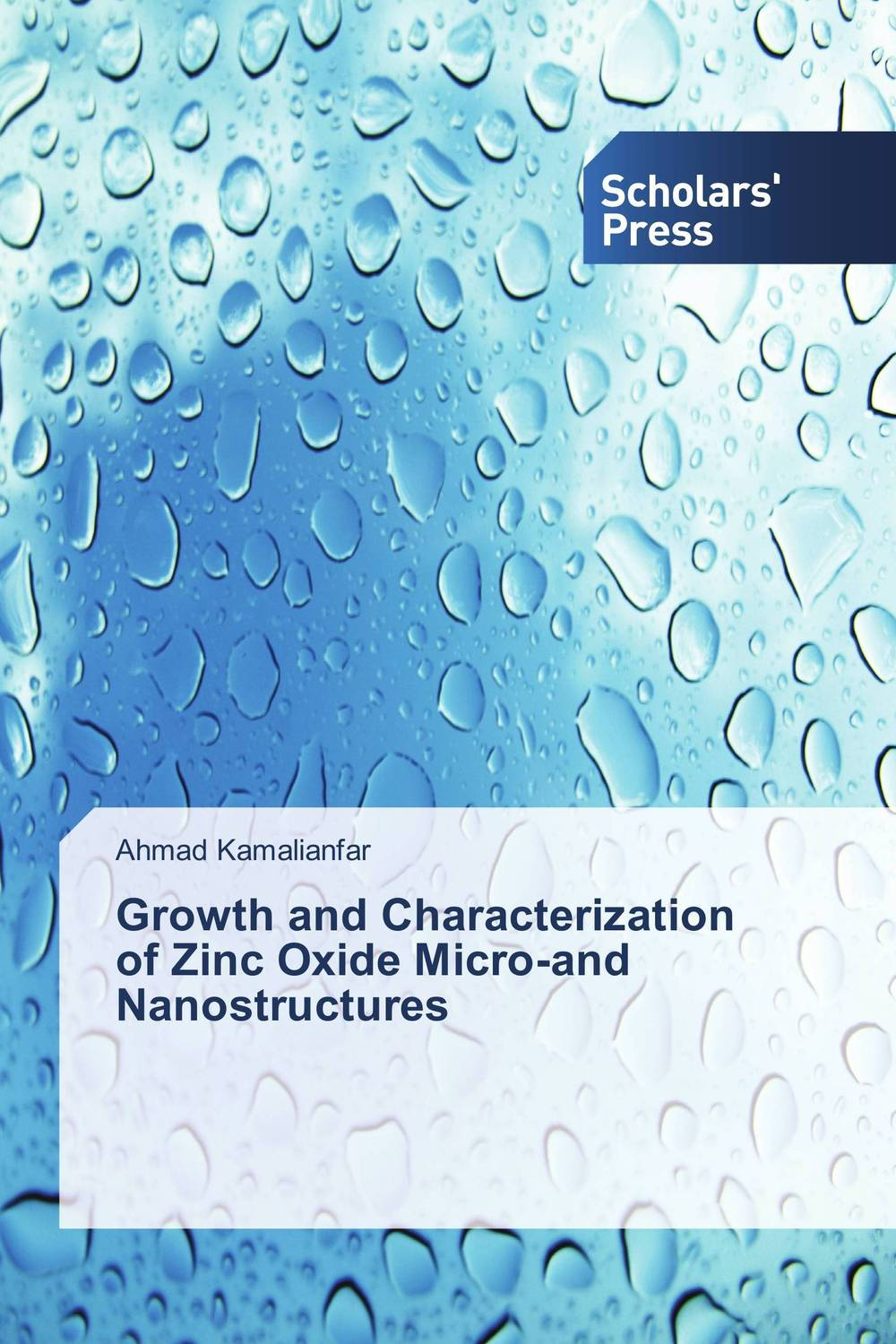Growth and Characterization of Zinc Oxide Micro-and Nanostructures purnima sareen sundeep kumar and rakesh singh molecular and pathological characterization of slow rusting in wheat