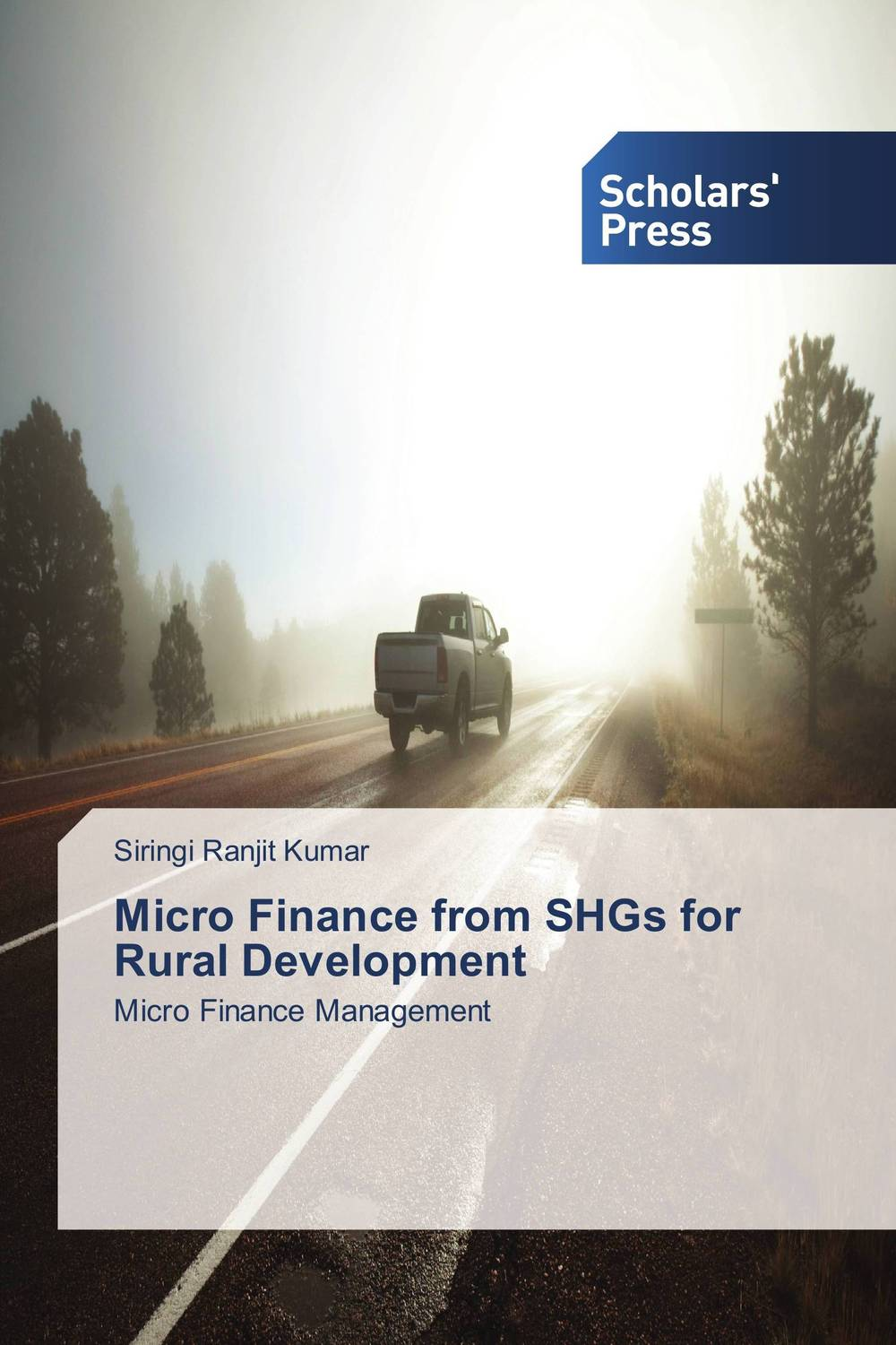Micro Finance from SHGs for Rural Development jaynal ud din ahmed and mohd abdul rashid institutional finance for micro and small entreprises in india