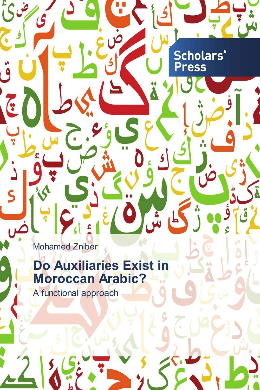 Do Auxiliaries Exist in Moroccan Arabic? dobson c french verb handbook
