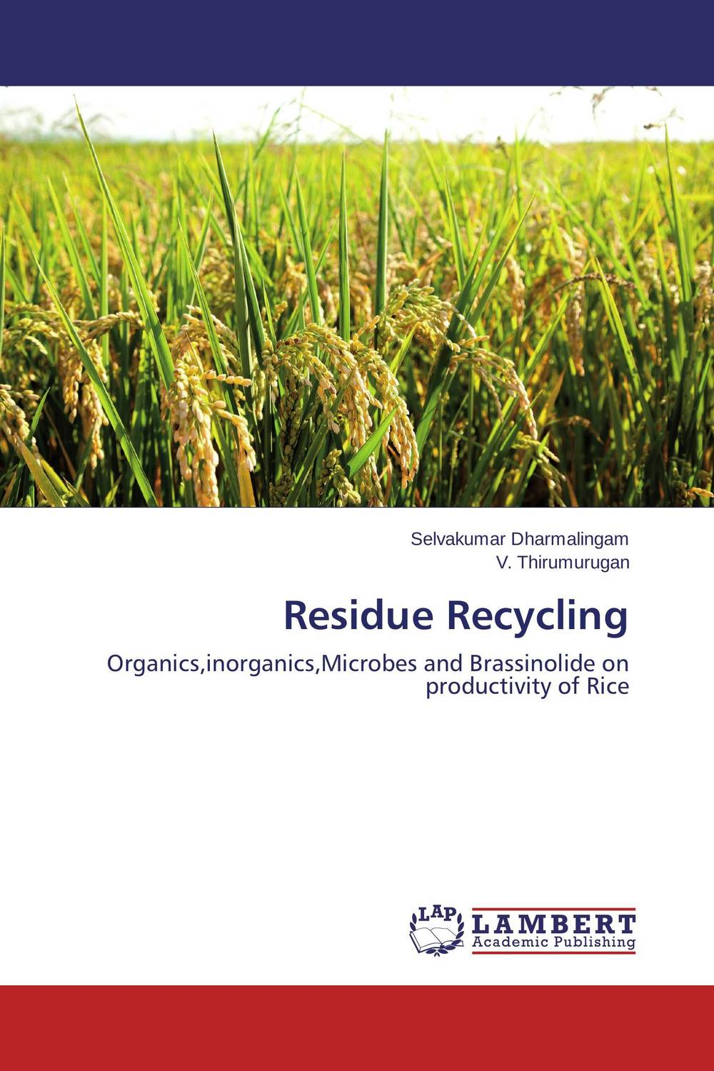 Residue Recycling productivity of rice