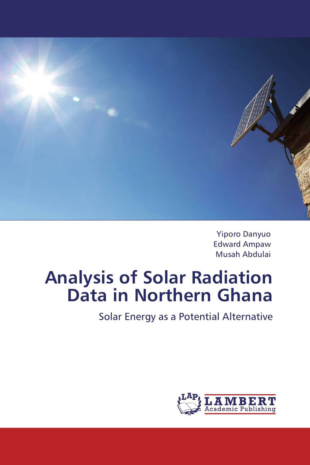 Analysis of Solar Radiation Data in Northern Ghana the valves are self acting i e they operate without the supply of auxiliary energy such as electricity or compressed air