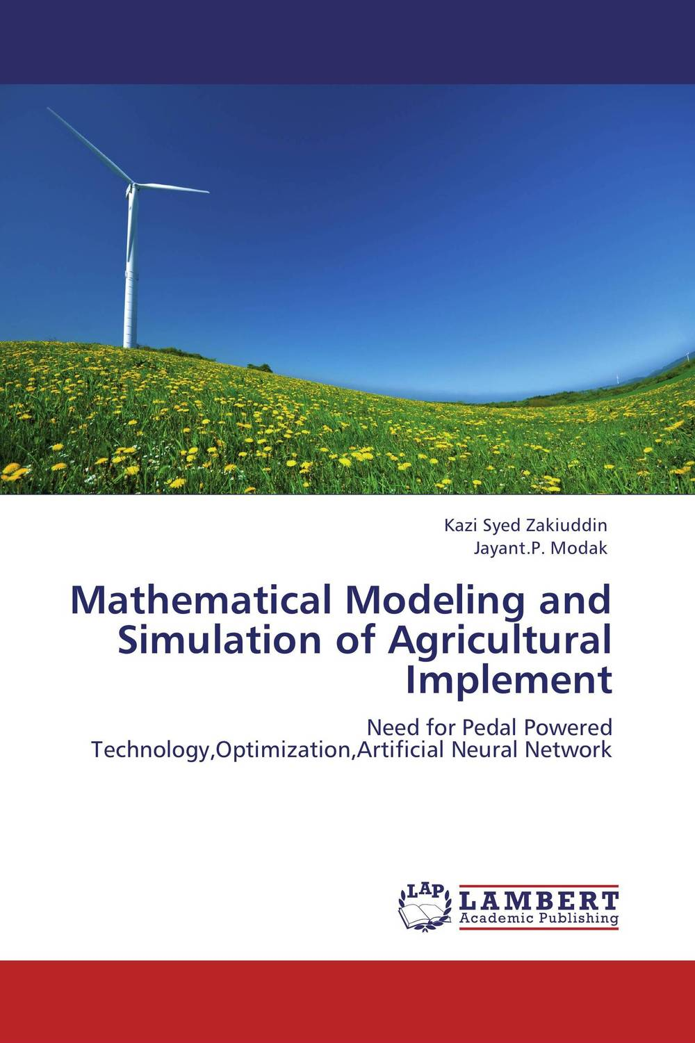 Mathematical Modeling and Simulation of Agricultural Implement mathematical modeling for the mcm icm co