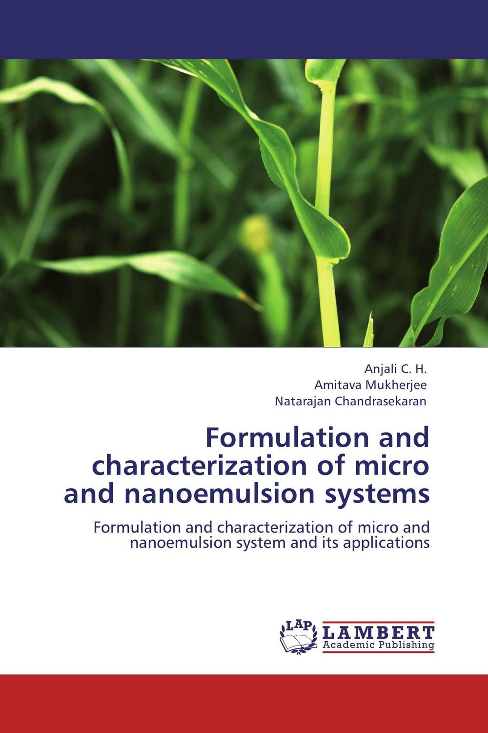 Formulation and characterization of micro and nanoemulsion systems baljit singh polymeric pesticide delivery systems to control environmental hazards