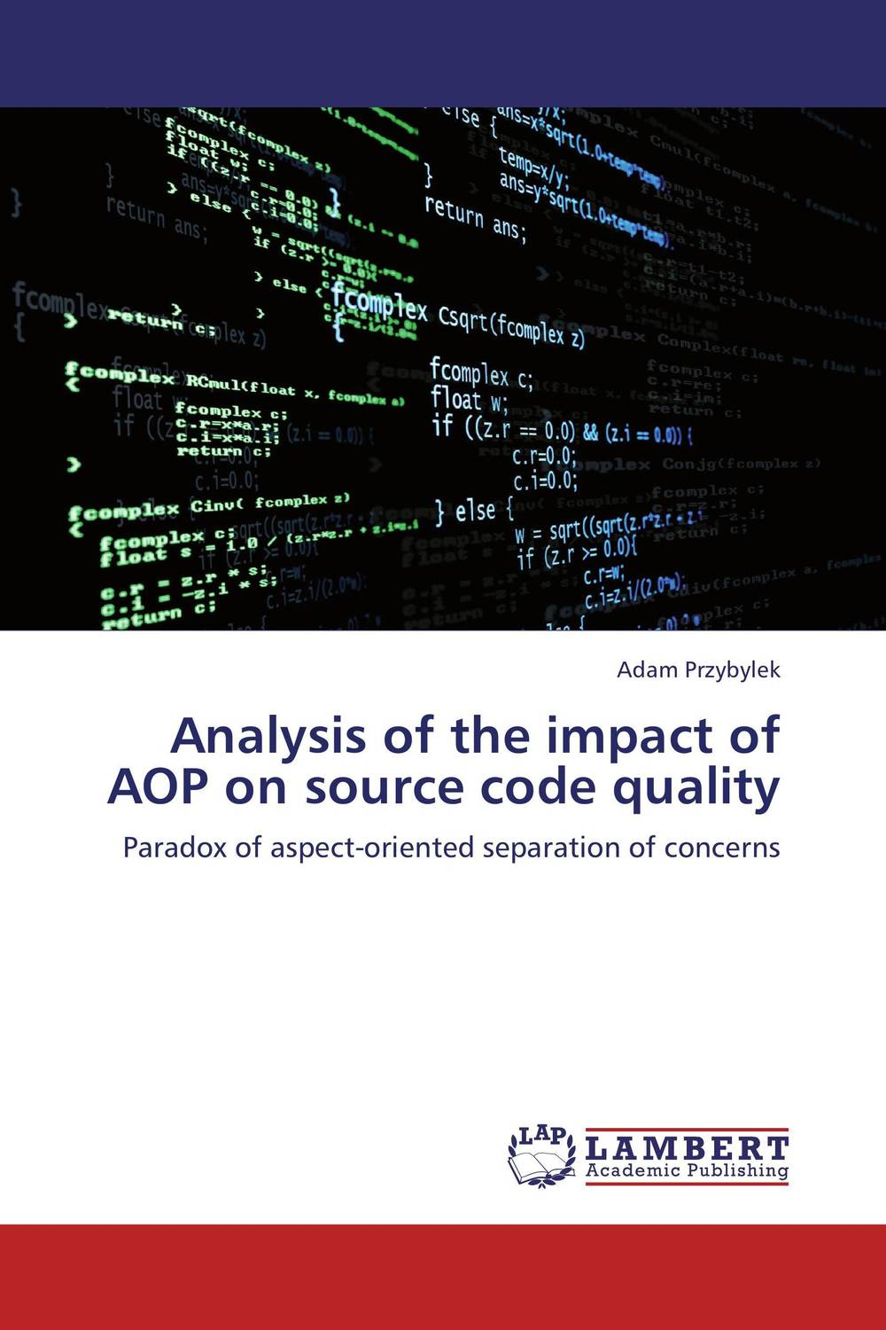Analysis of the impact of AOP on source code quality a tutorial on java socket programming and source code analysis