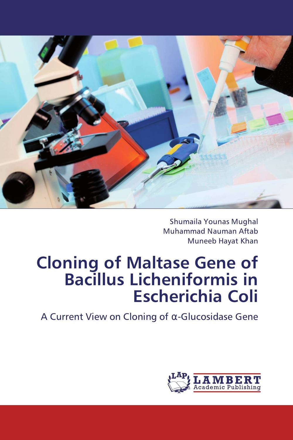 Cloning of Maltase Gene of Bacillus Licheniformis in Escherichia Coli cloning with gesture expressivity