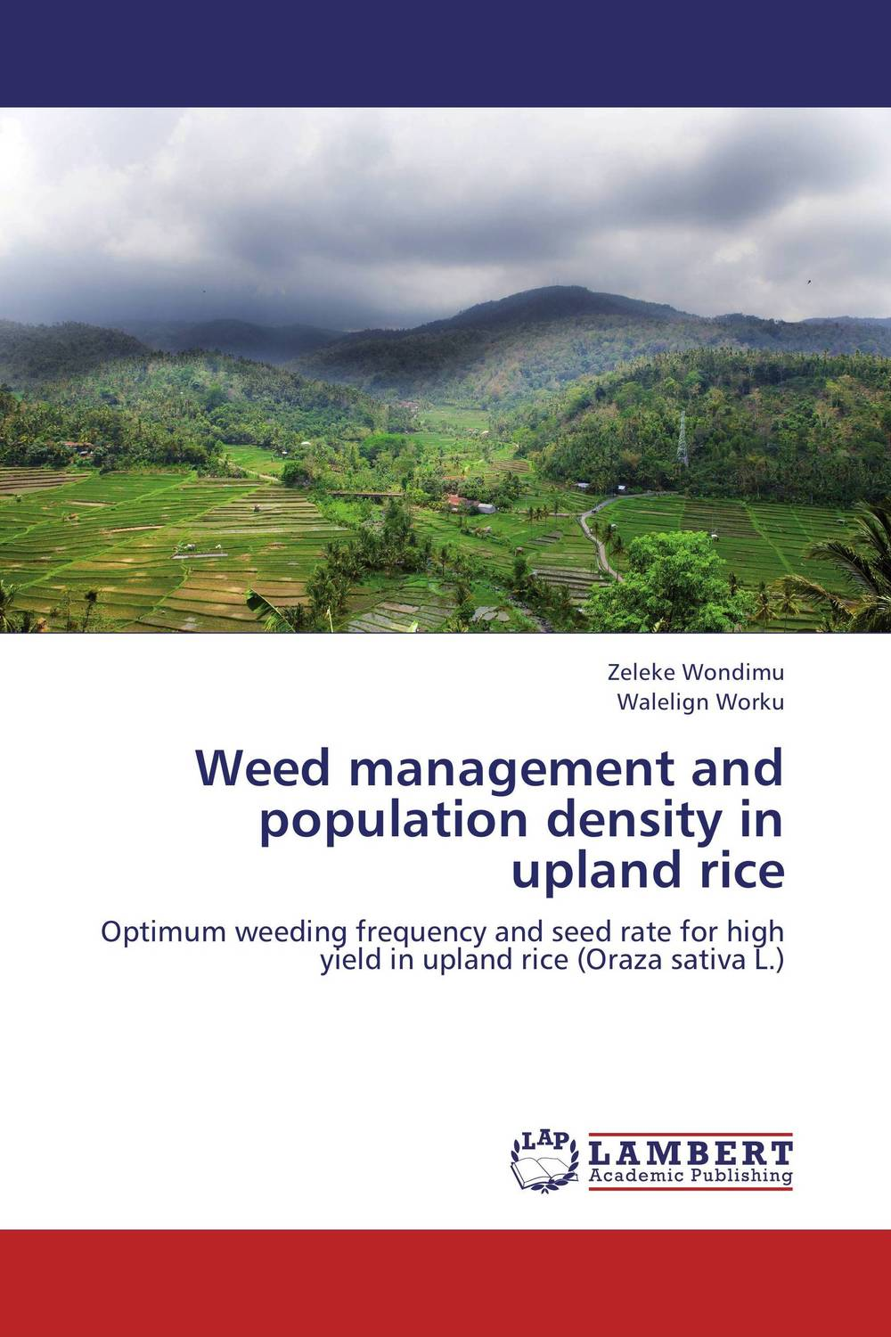 Weed management and population density in upland rice цепочка