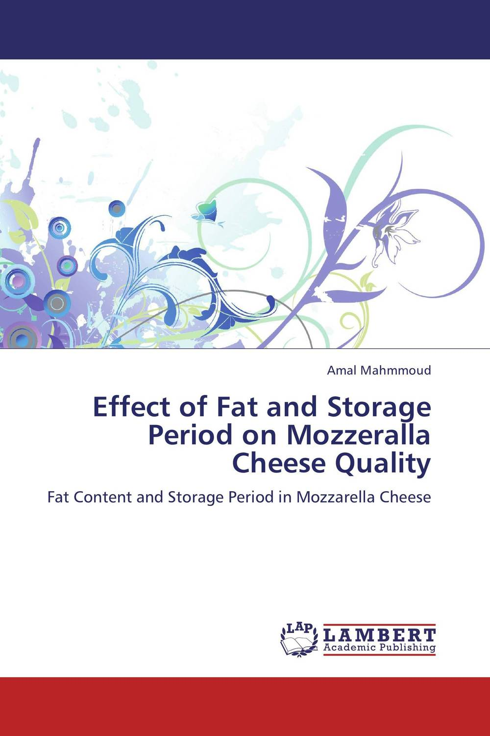 Effect of Fat and Storage Period on Mozzeralla Cheese Quality psychiatric disorders in postpartum period