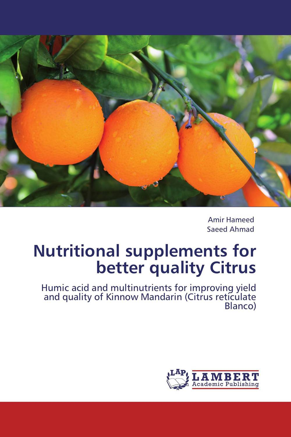 Nutritional supplements for better quality Citrus tissue culture of citrus reticulata blanco kinnow