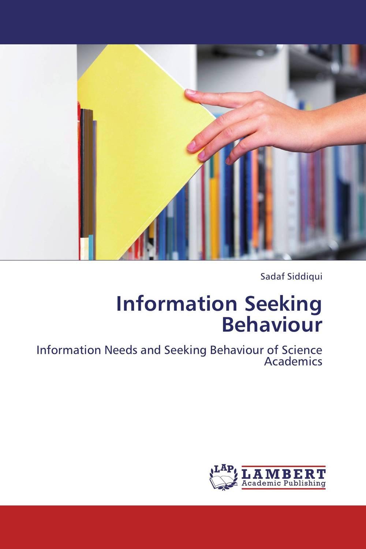 Information Seeking Behaviour information needs and seeking behavior of media practitioners