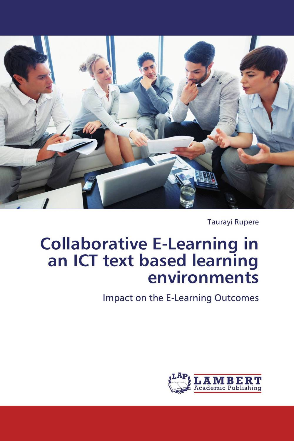 Collaborative E-Learning in an ICT text based learning environments pso based evolutionary learning