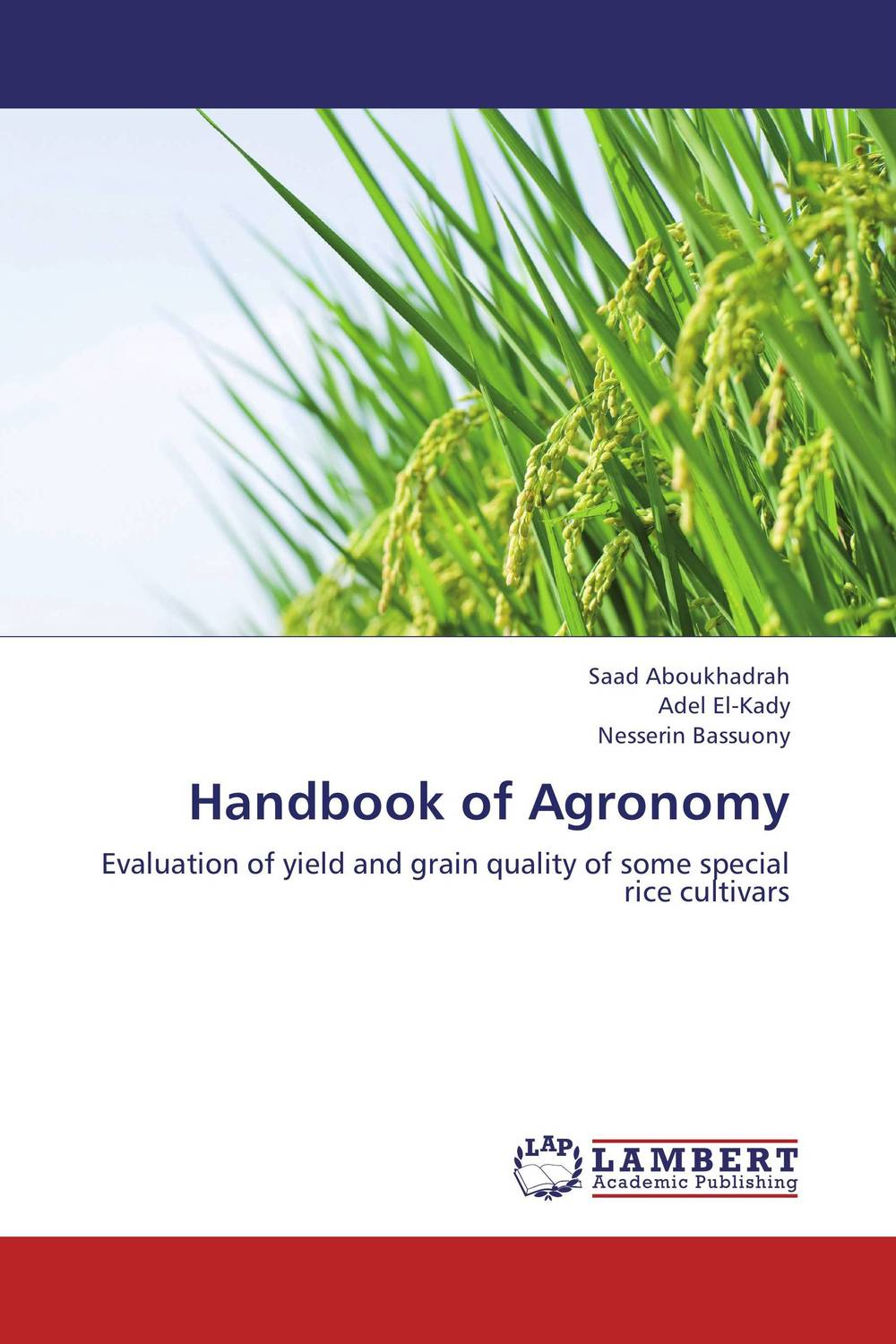 Handbook of Agronomy дорожная косметичка rice grain of rice a01 032 2014