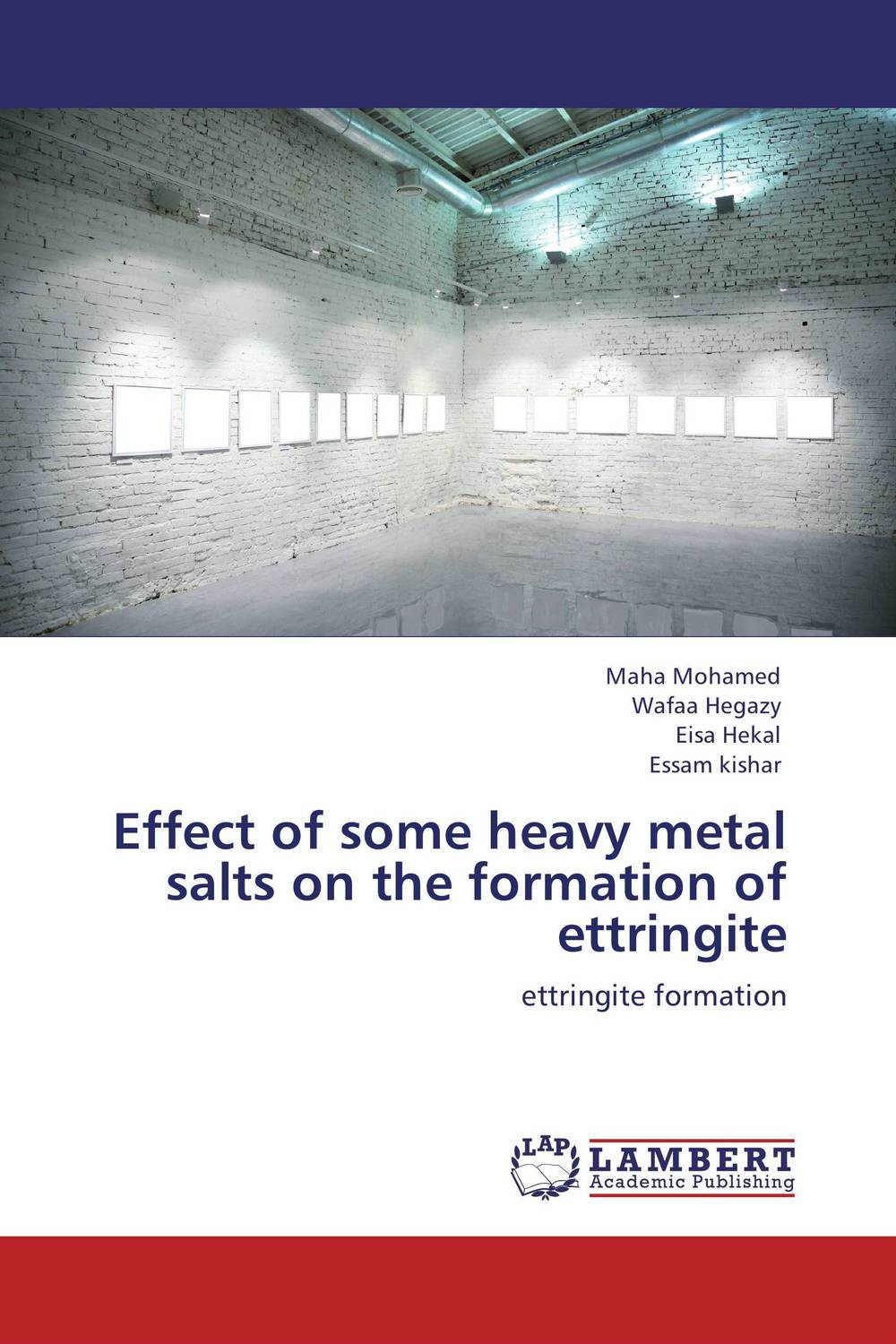 Effect of some heavy metal salts on the formation of ettringite marwan a ibrahim effect of heavy metals on haematological and testicular functions