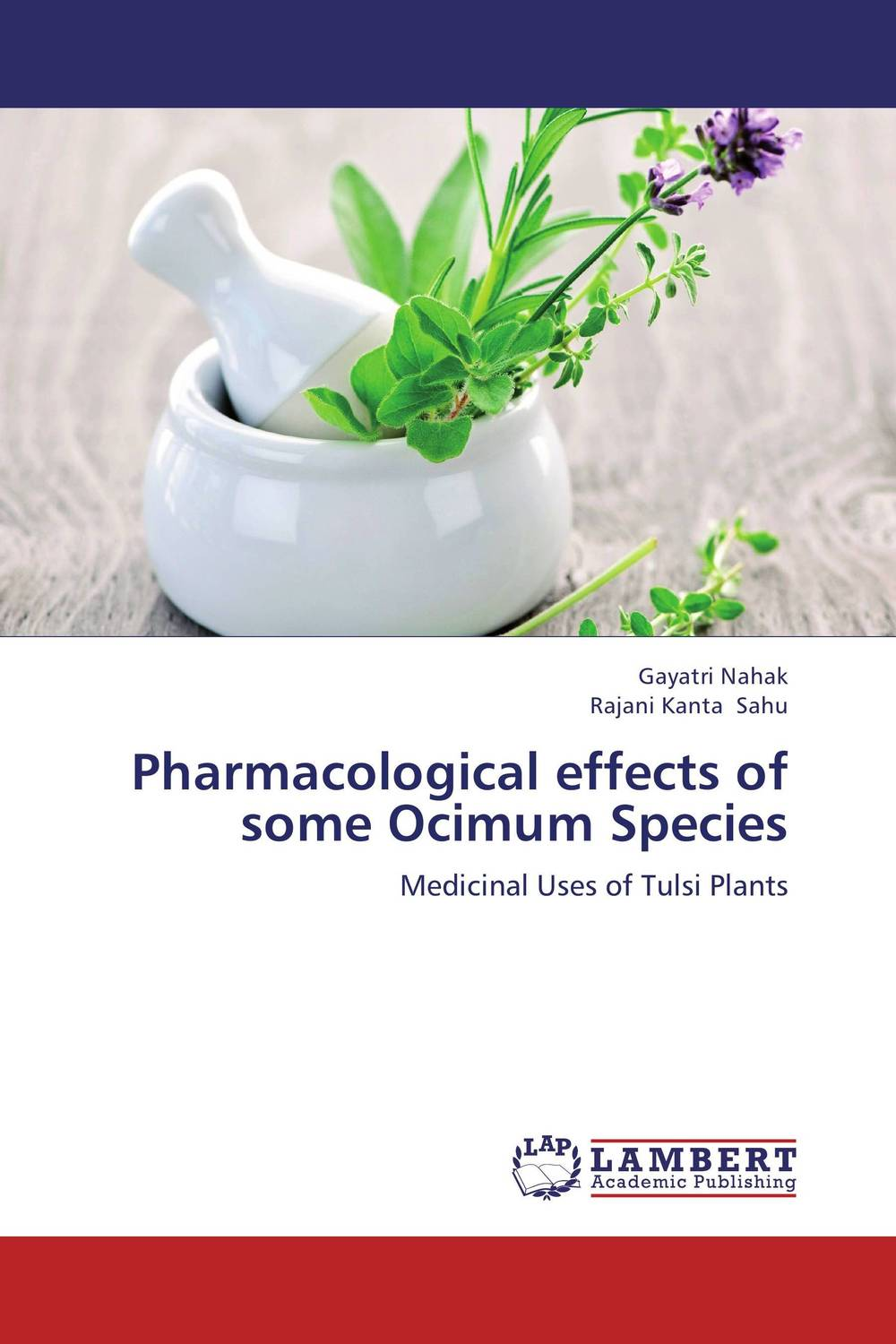 Pharmacological effects of some Ocimum Species molecular phylogeny of some species of the genus hordeum l