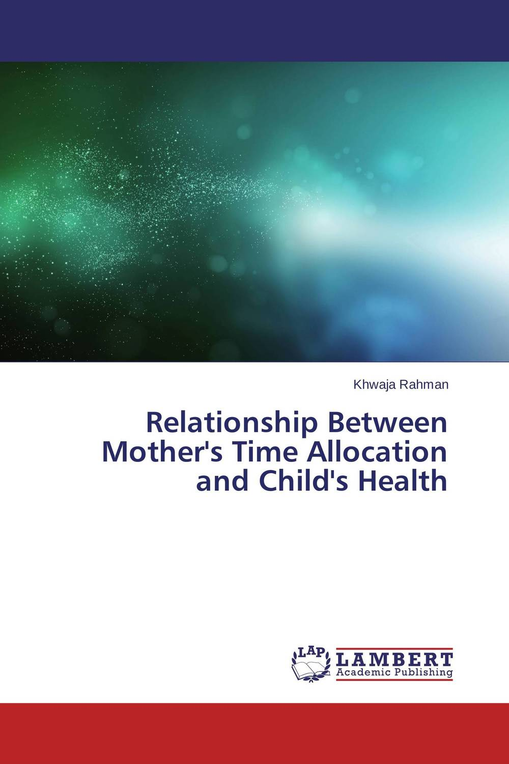 Фото Relationship Between Mother's Time Allocation and Child's Health finance and investments