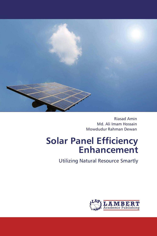 Solar Panel Efficiency Enhancement energy efficient system for solar panel