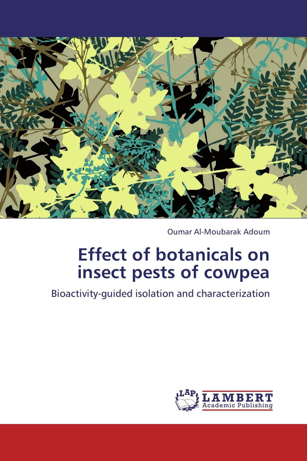 Effect of botanicals on insect pests of cowpea