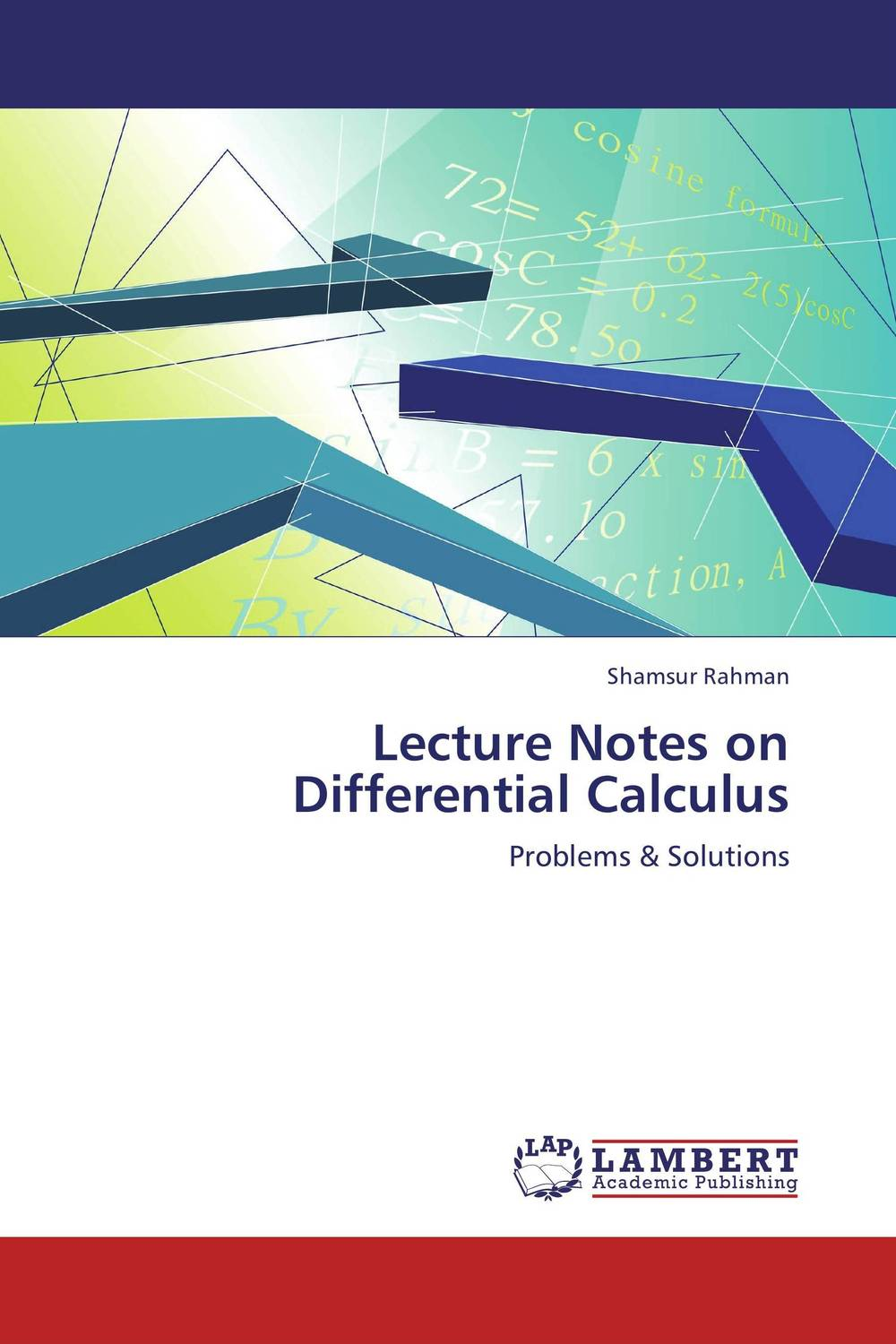 Lecture Notes on Differential Calculus kitred5l350unv35668 value kit rediform sales book red5l350 and universal standard self stick notes unv35668