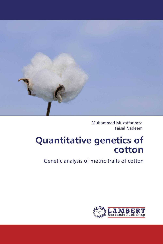 Quantitative genetics of cotton plant genetic resources