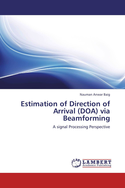 Estimation of Direction of Arrival (DOA) via Beamforming футболка esprit esprit es393egrhk66