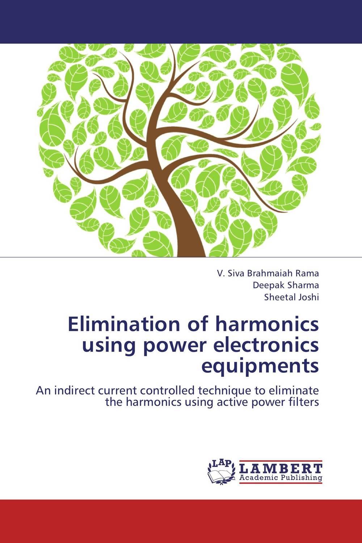 Elimination of harmonics using power electronics equipments avantika fadnis harmonics in power system