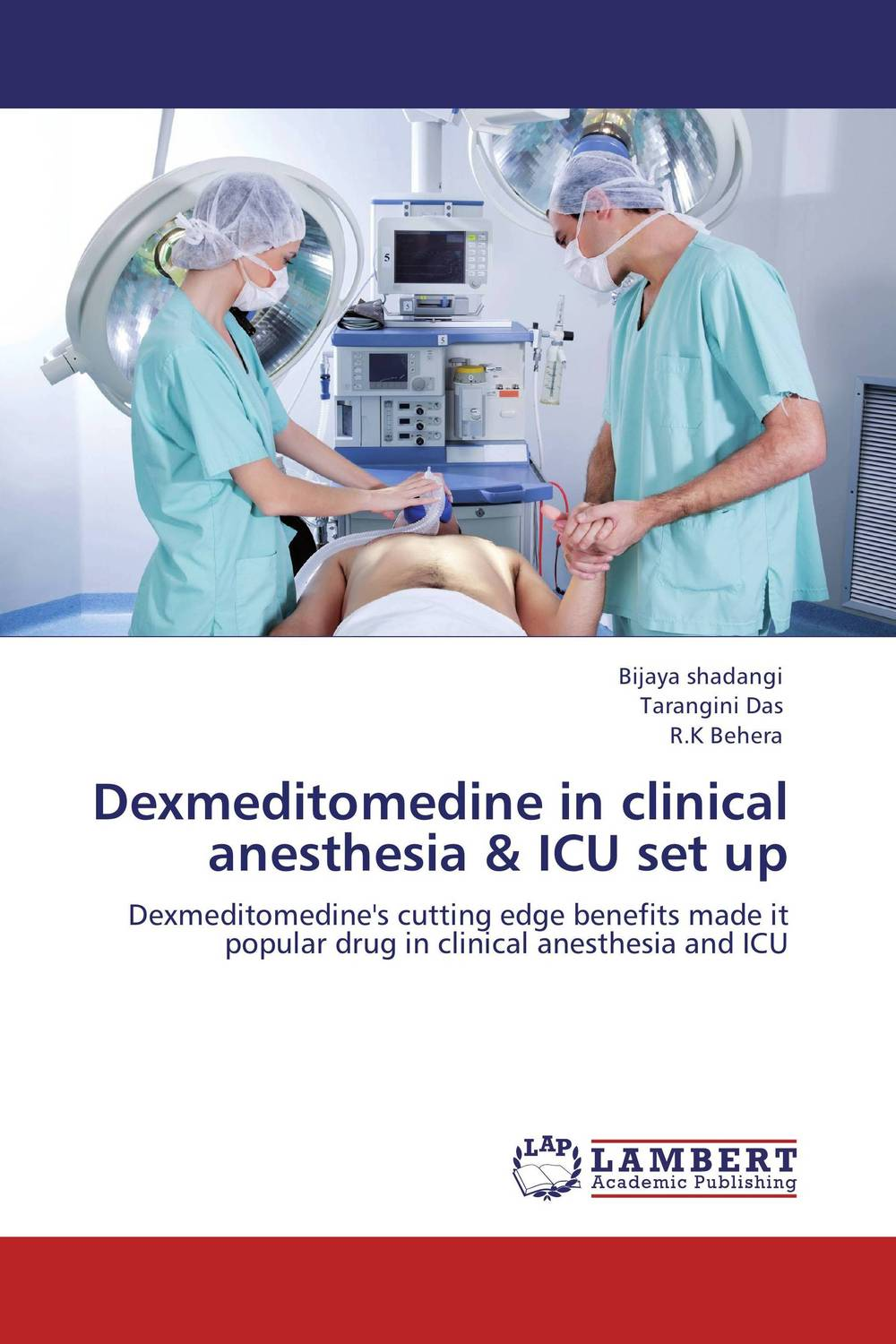 Dexmeditomedine in clinical anesthesia & ICU set up anesthesia and analgesia in laboratory animals