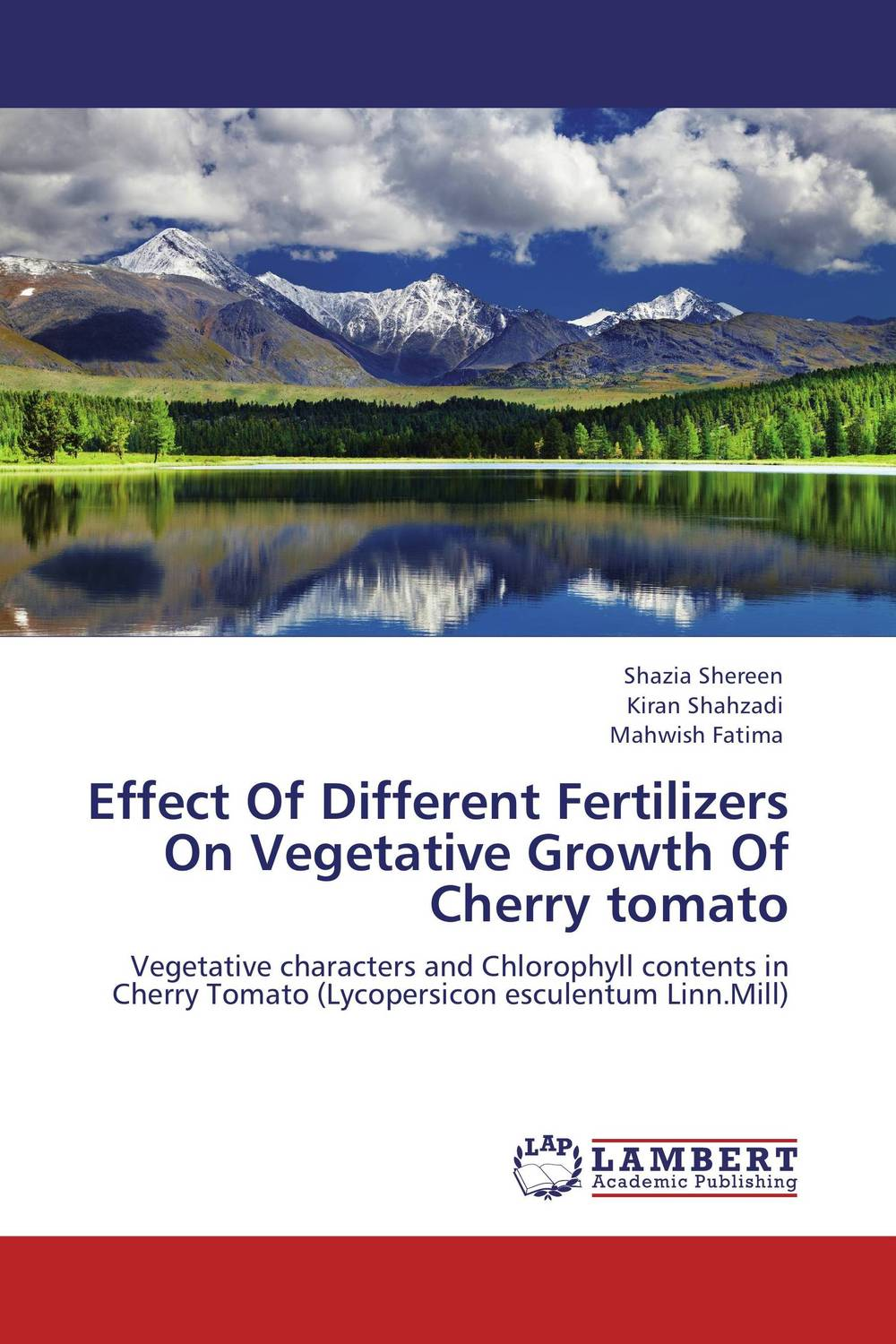 Effect Of Different Fertilizers On Vegetative Growth Of Cherry tomato