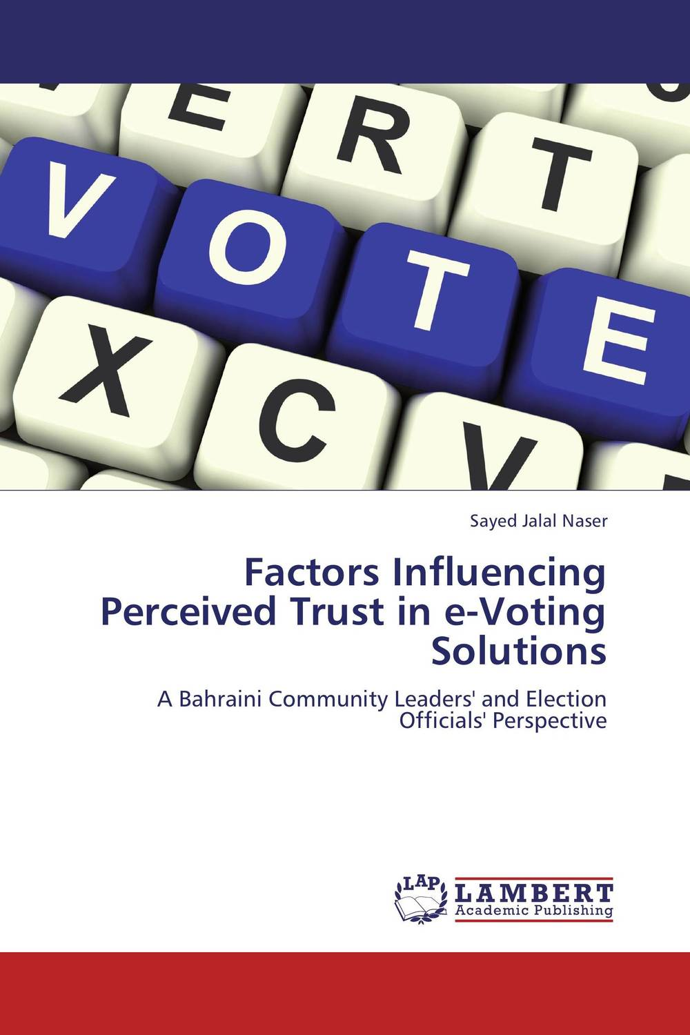 Factors Influencing Perceived Trust in e-Voting Solutions planning and implementation of open source afis for indonesia e voting