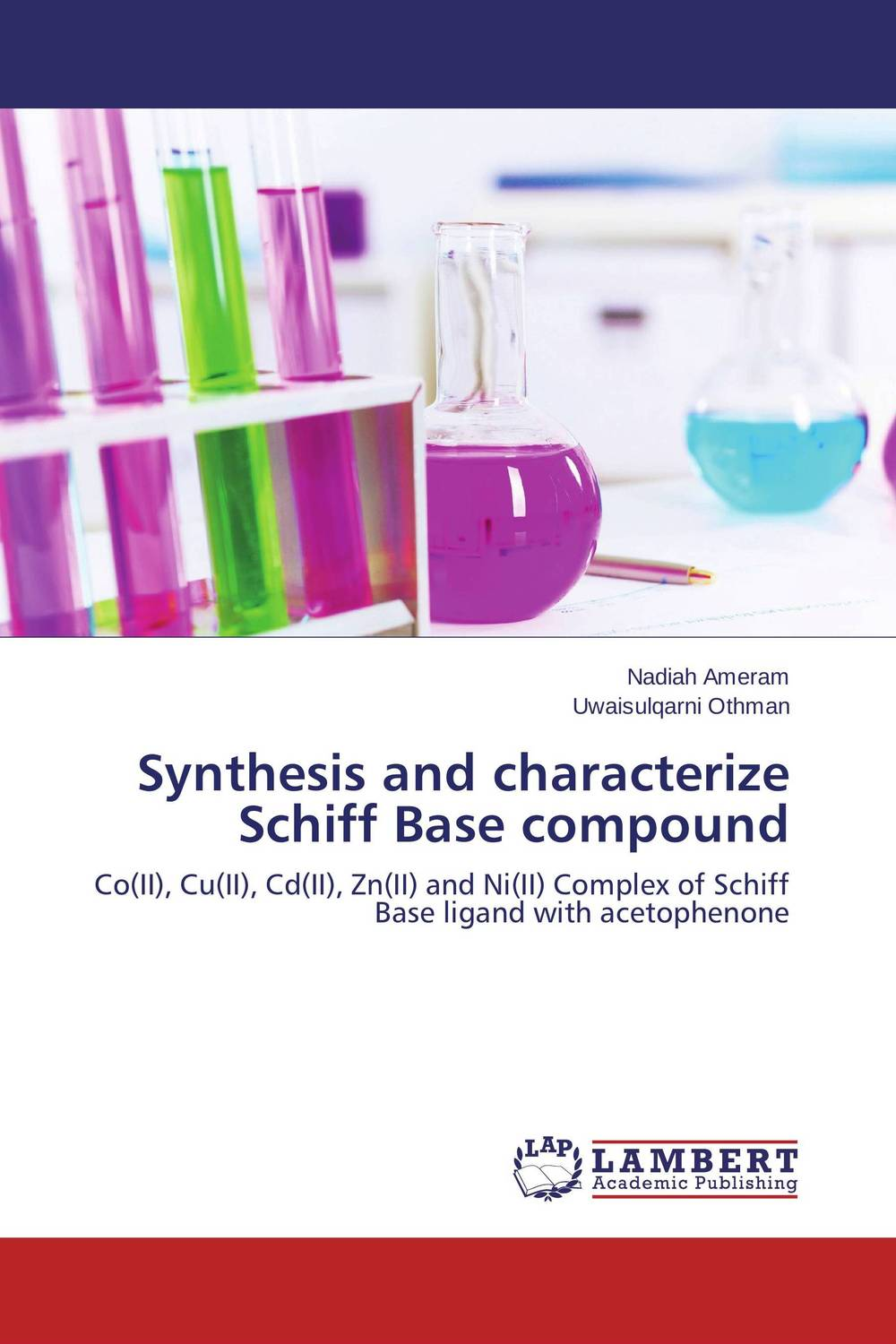 Synthesis and characterize Schiff Base compound d rakesh s s kalyan kamal and sumair faisal ahmed synthesis