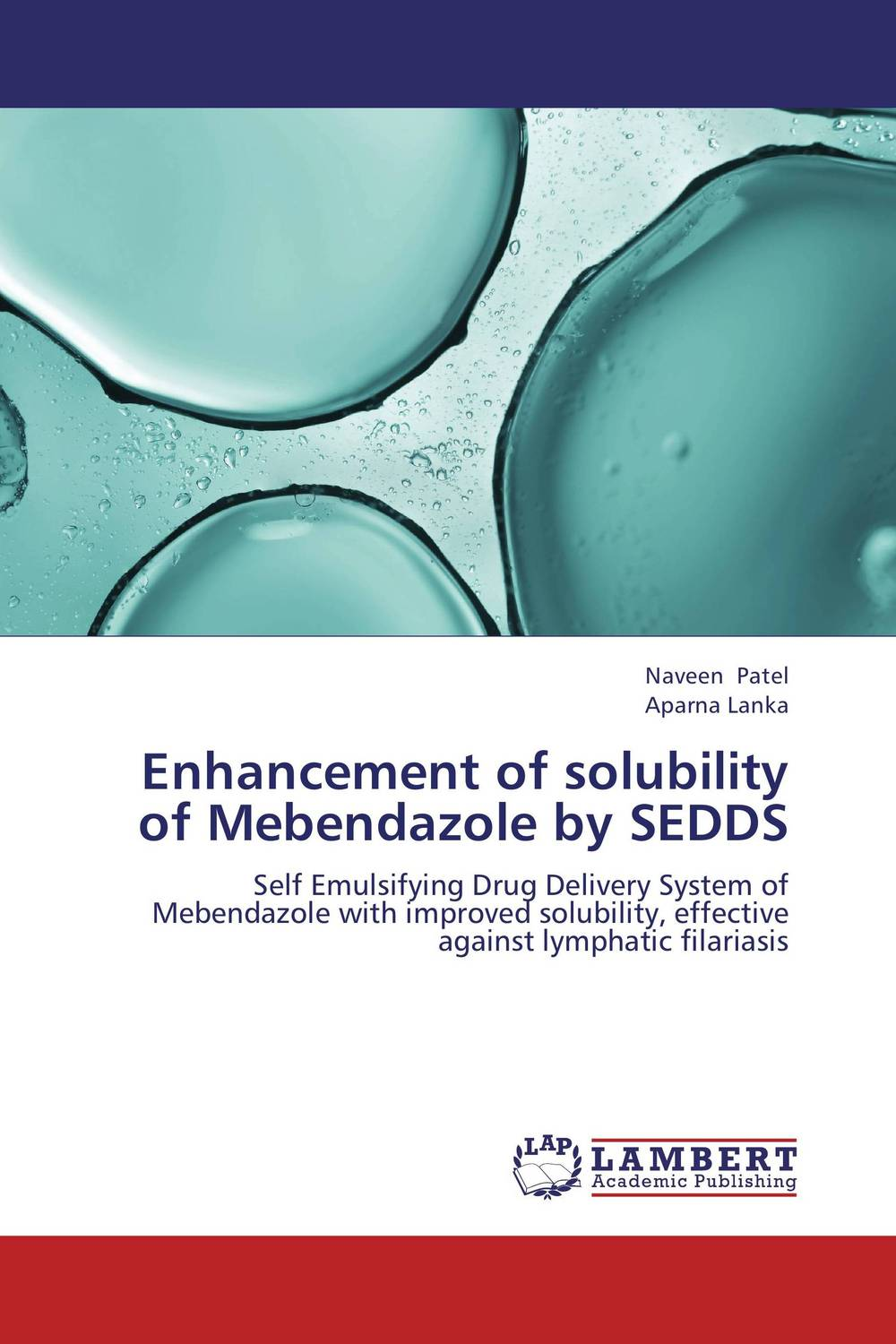 Enhancement of solubility of Mebendazole by SEDDS vipul p patel in vitro dissolution enhancement of felodipine