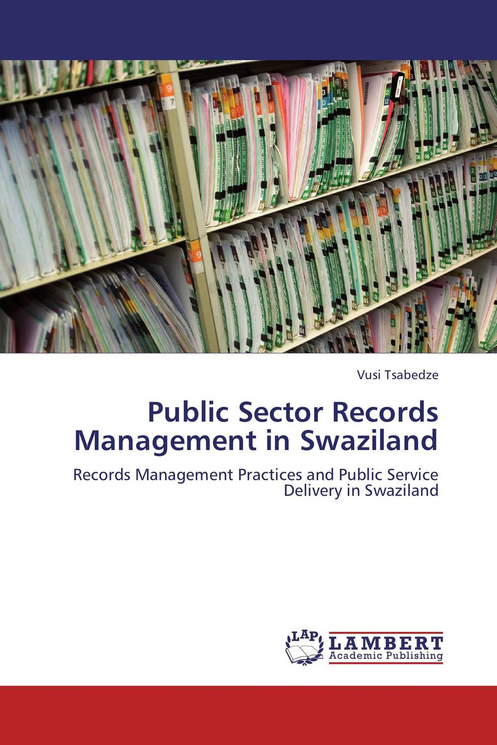 Public Sector Records Management in Swaziland a comparative study of public and private healthcare services