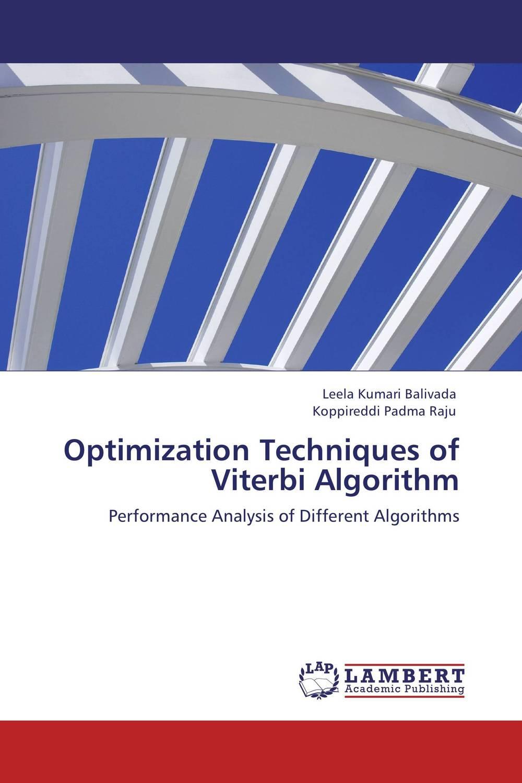 Optimization Techniques of Viterbi Algorithm optimization techniques for fir filter