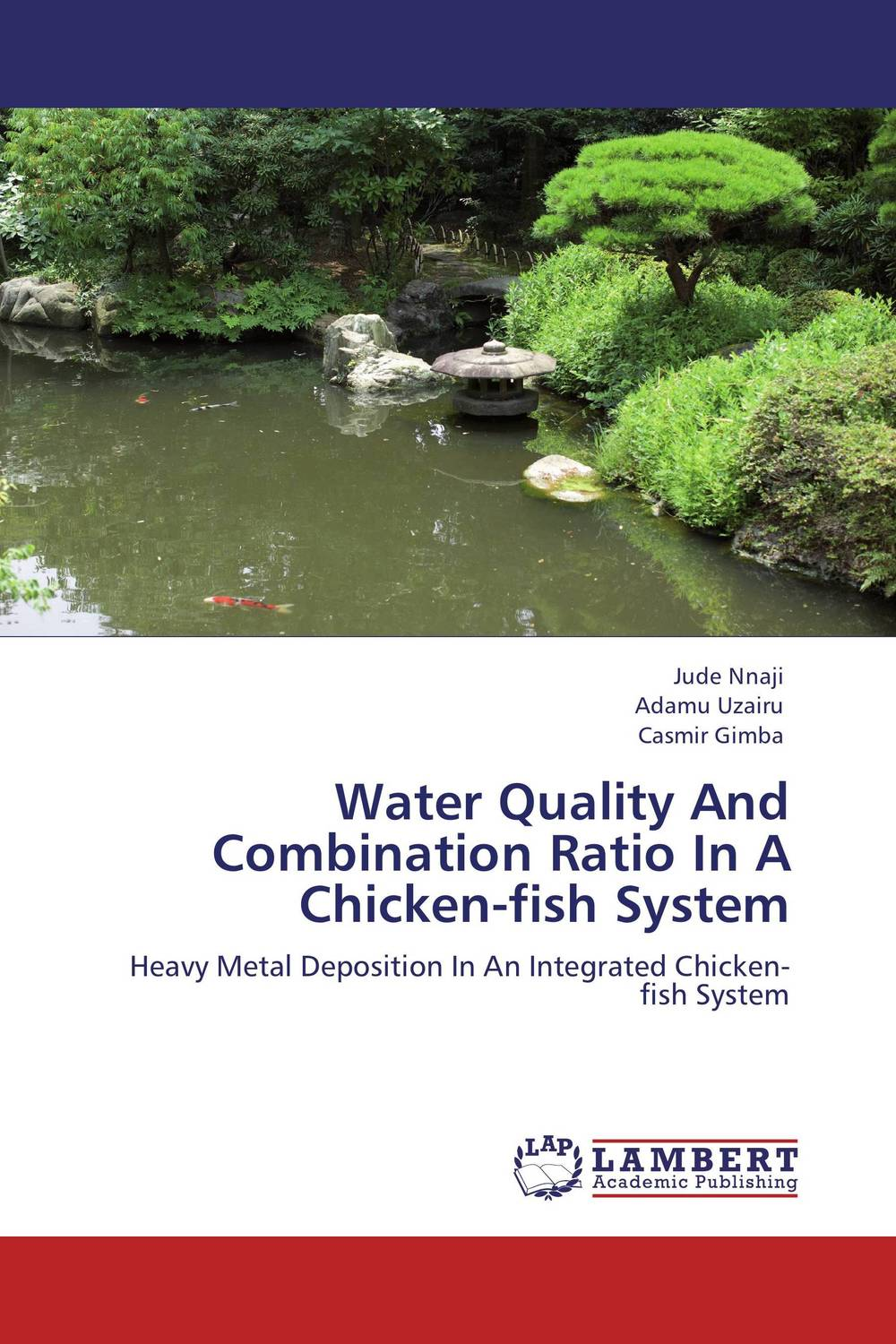 Water Quality And Combination Ratio In A Chicken-fish System the feed additive and the fish