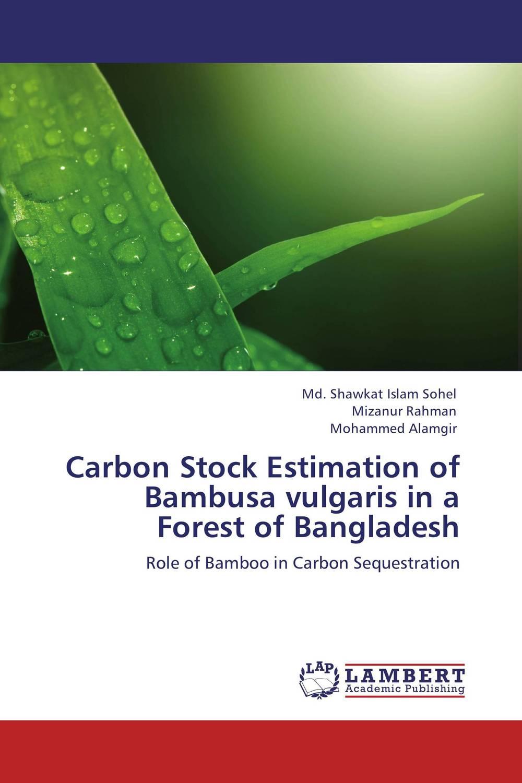 купить Carbon Stock Estimation of Bambusa vulgaris in a Forest of Bangladesh недорого