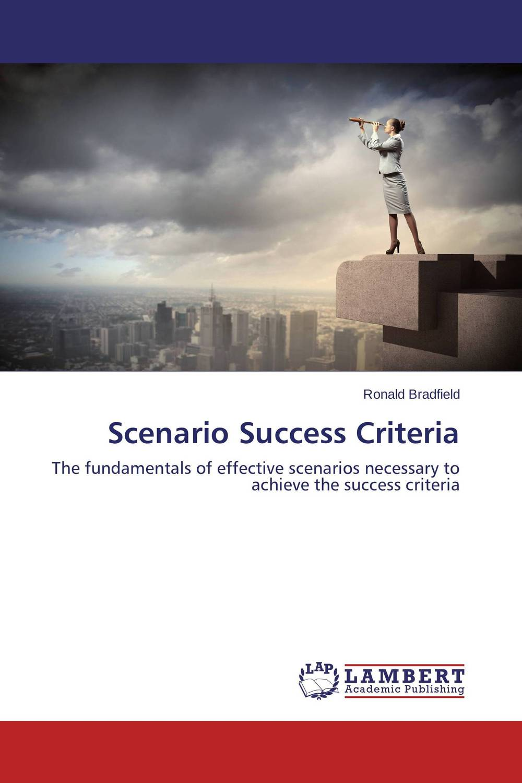 Scenario Success Criteria investor s personality and cognitive biases
