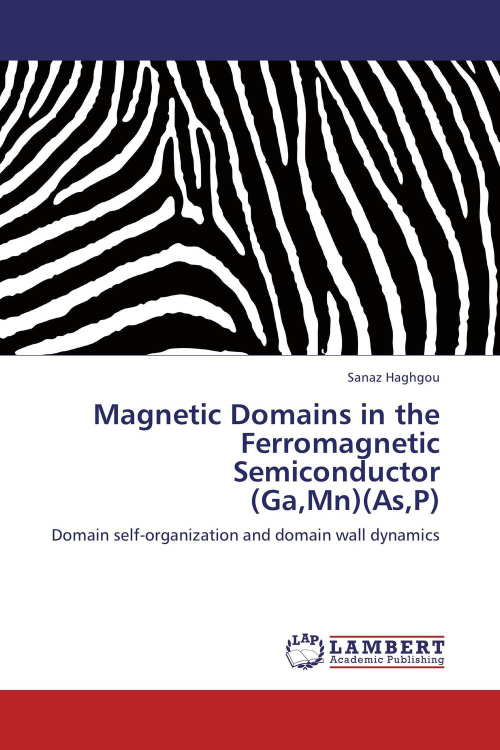Magnetic Domains in the Ferromagnetic Semiconductor  (Ga,Mn)(As,P) driven to distraction