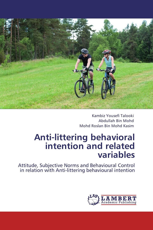 Anti-littering behavioral intention and related variables купить автомобиль б у в донецке до 33000 грн