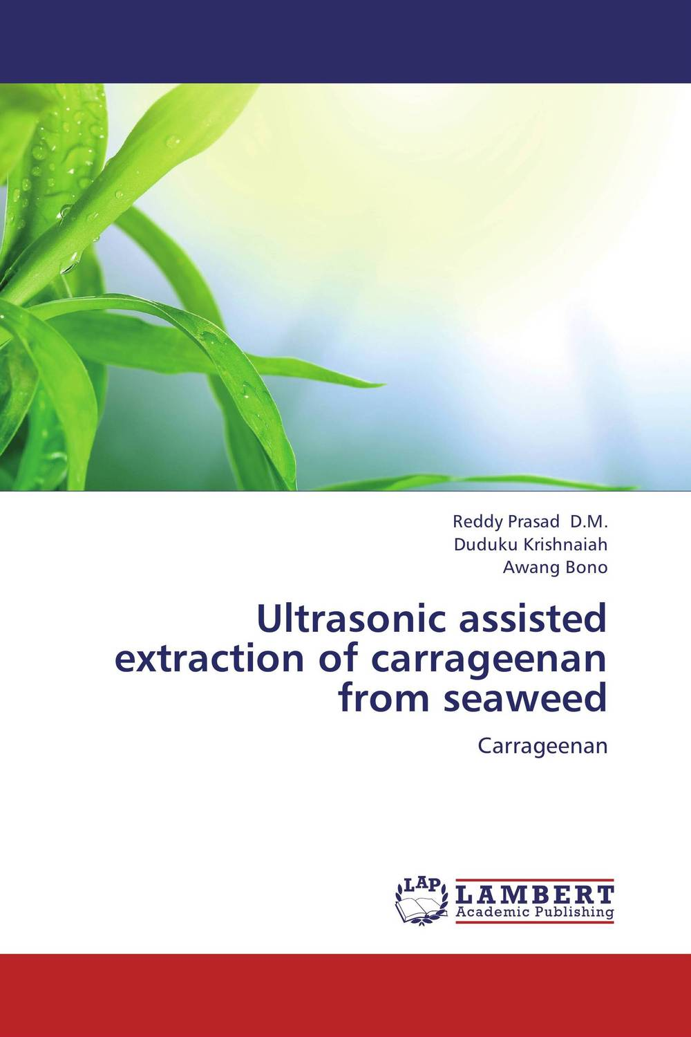 Ultrasonic assisted extraction of carrageenan from seaweed user preference extraction from brain signals