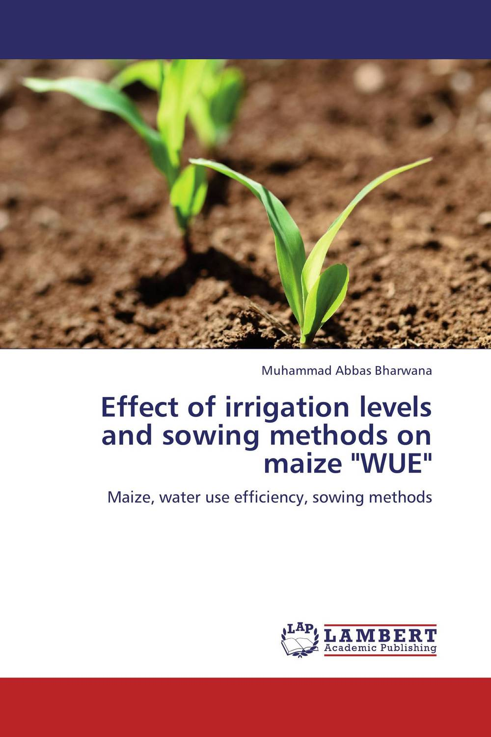 Effect of irrigation levels and sowing methods on maize WUE belousov a security features of banknotes and other documents methods of authentication manual денежные билеты бланки ценных бумаг и документов