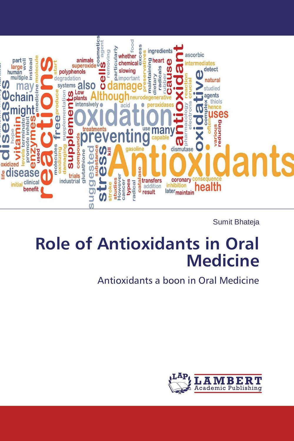 купить Role of Antioxidants in Oral Medicine недорого