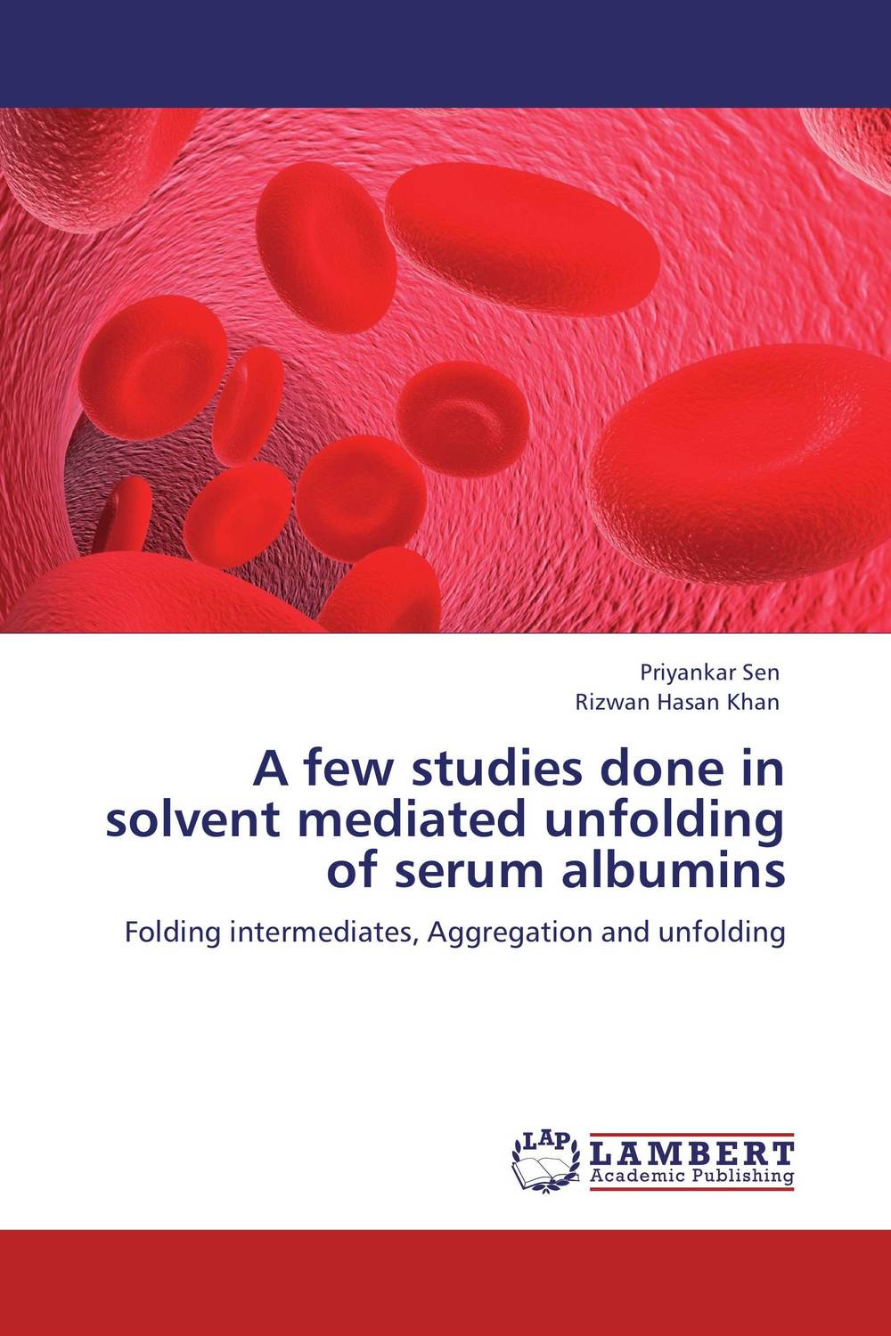A few studies done in solvent mediated unfolding of serum albumins a few of the girls