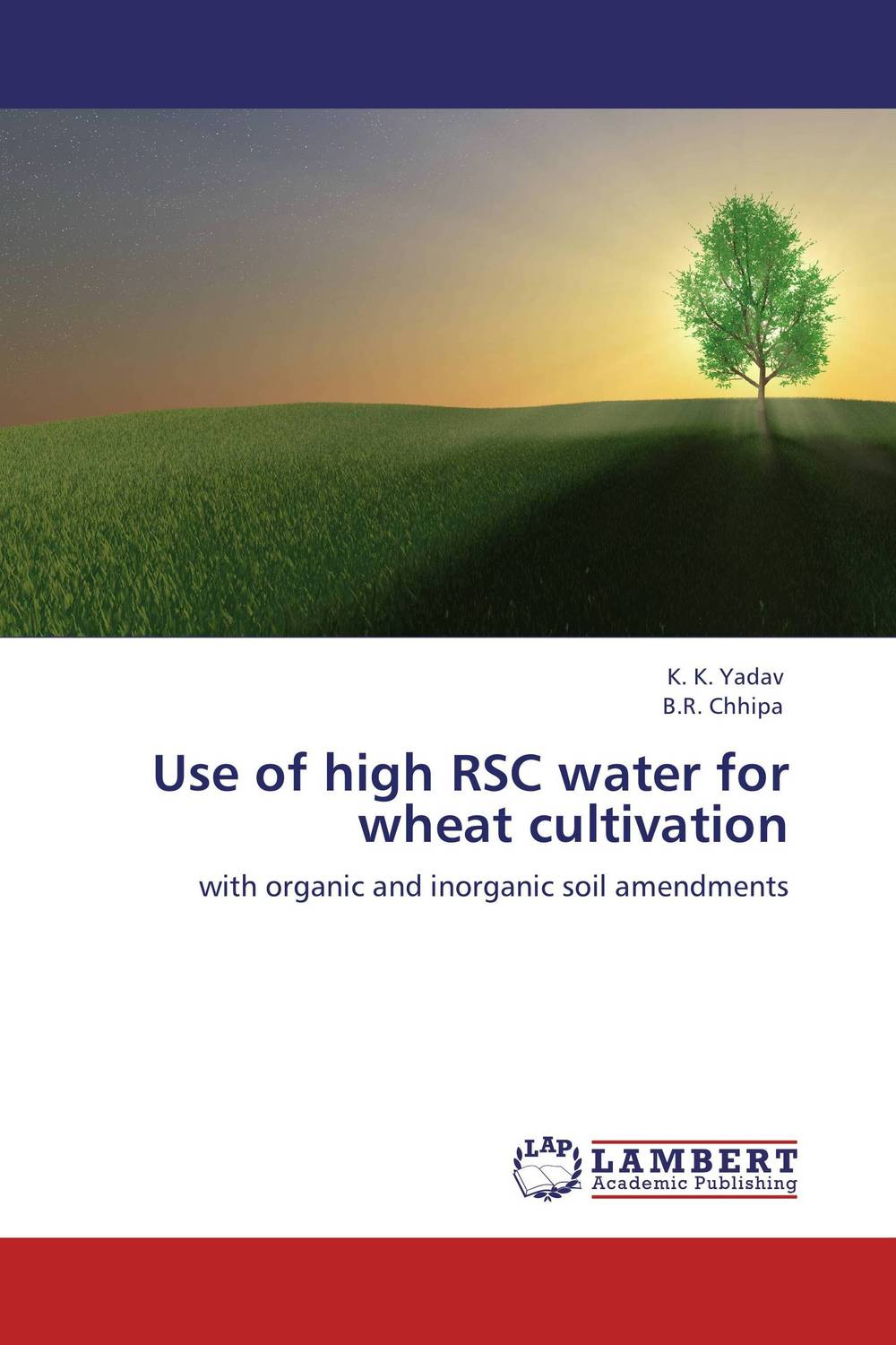 Use of high RSC water for wheat cultivation wheat breeding for rust resistance