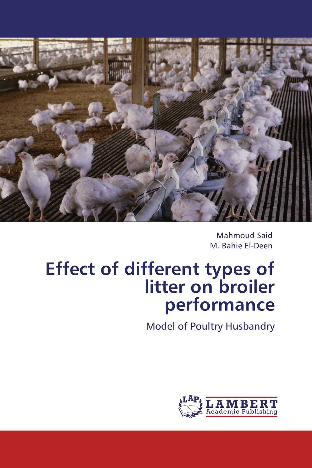 купить Effect of different types of litter on broiler performance недорого