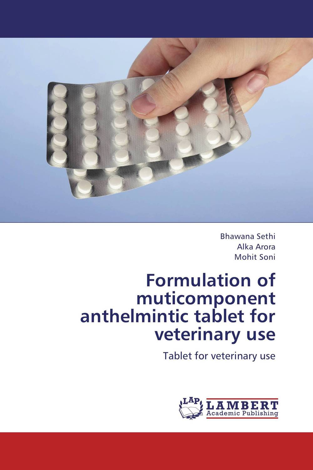 Formulation of muticomponent anthelmintic tablet for veterinary use found in brooklyn