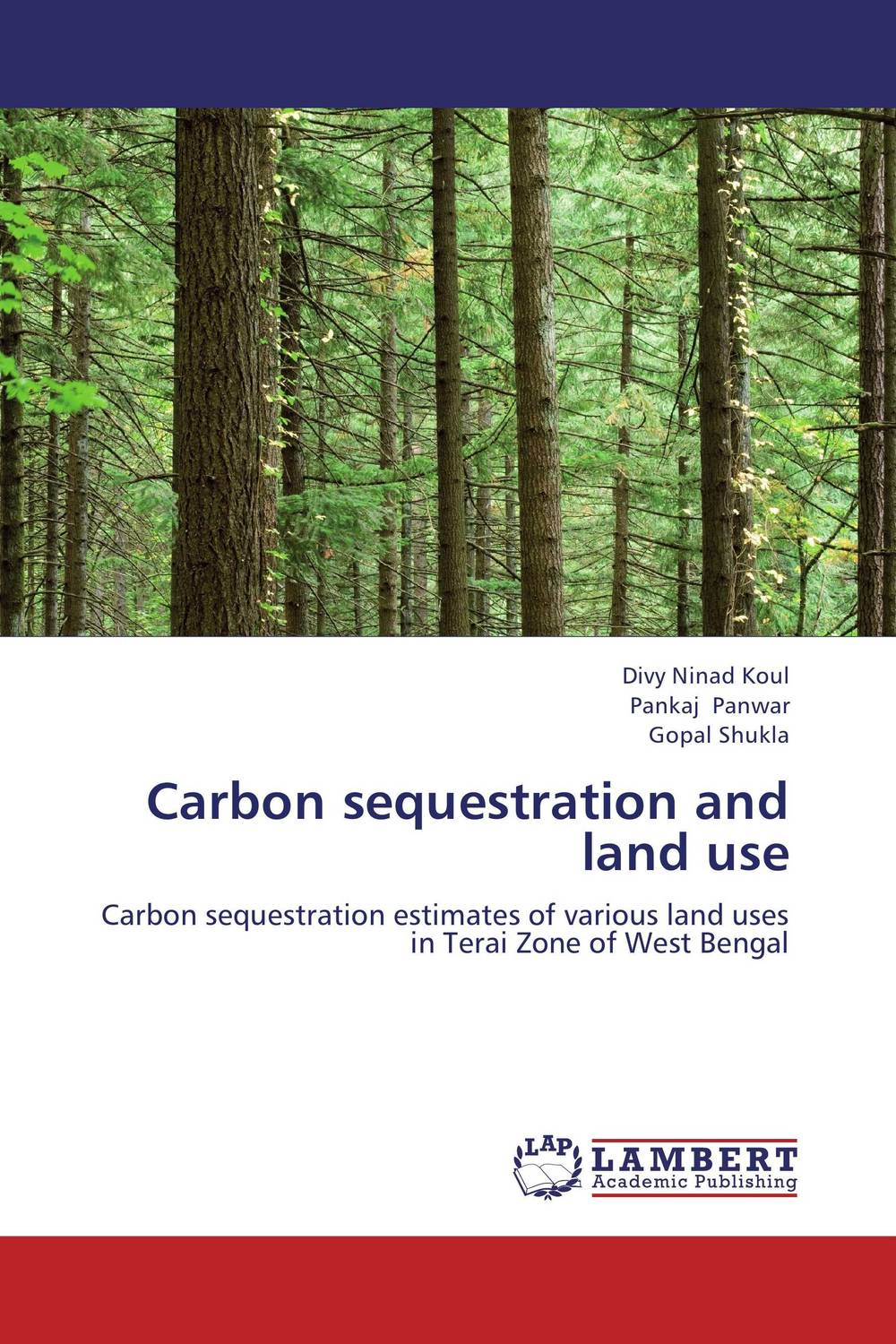 Carbon sequestration and land use gnanasekar s and chandrasekhar c n carbon sequestration in multipurpose tree species at seedling stage