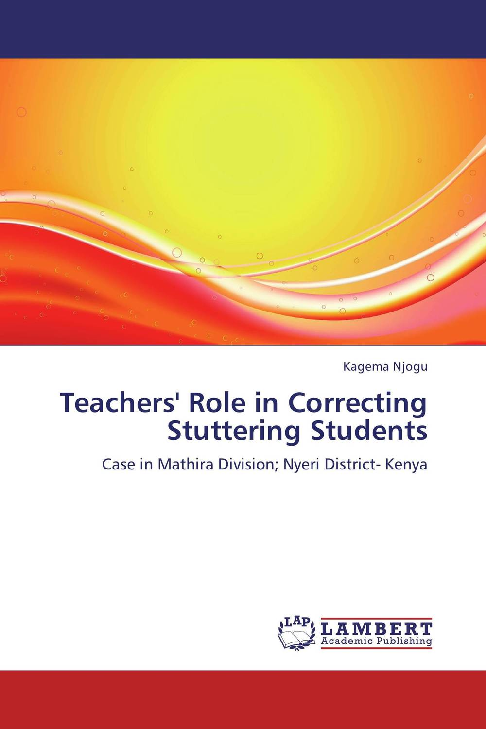 Teachers' Role in Correcting Stuttering Students the principal s role in getting teachers to collaborate